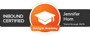 Jennifer Hom Hubspot Certification